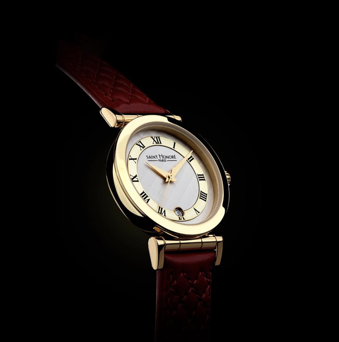 watch design saint honoré lady gold rodolphe