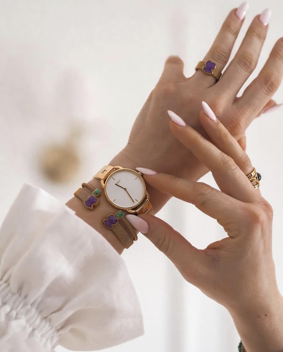 watch design tous lady gold watch