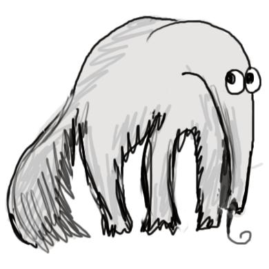 Выхухоль, талисман  модуля «Сценарии взаимодействия» дизайн-задачника «Собаки Павловой»