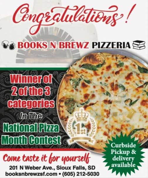 National pizza month Sioux Falls voting best pizza image