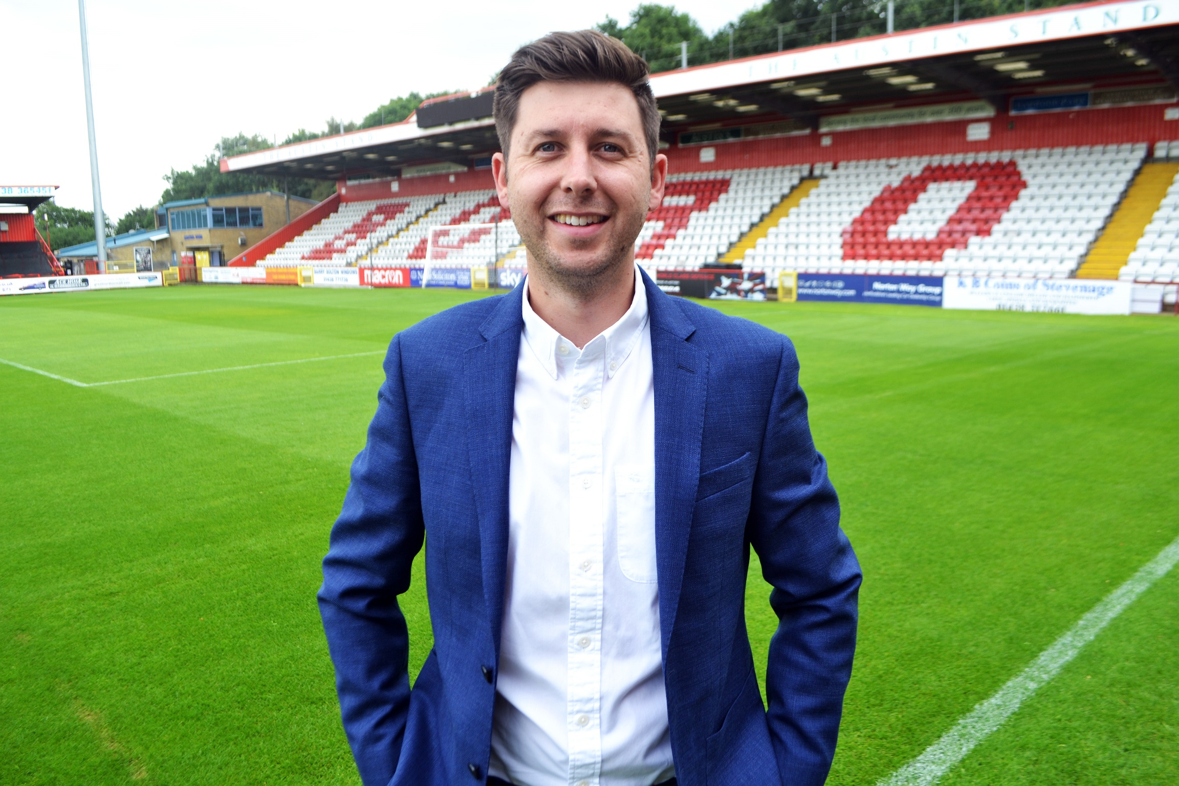 HR Stars: Alex Tunbridge, Stevenage FC