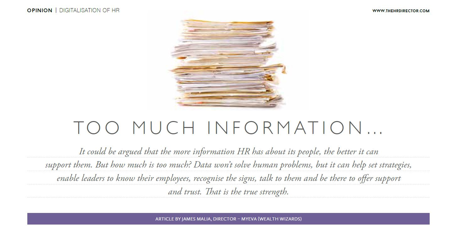 The true strength of data for HRs - HR Director publication