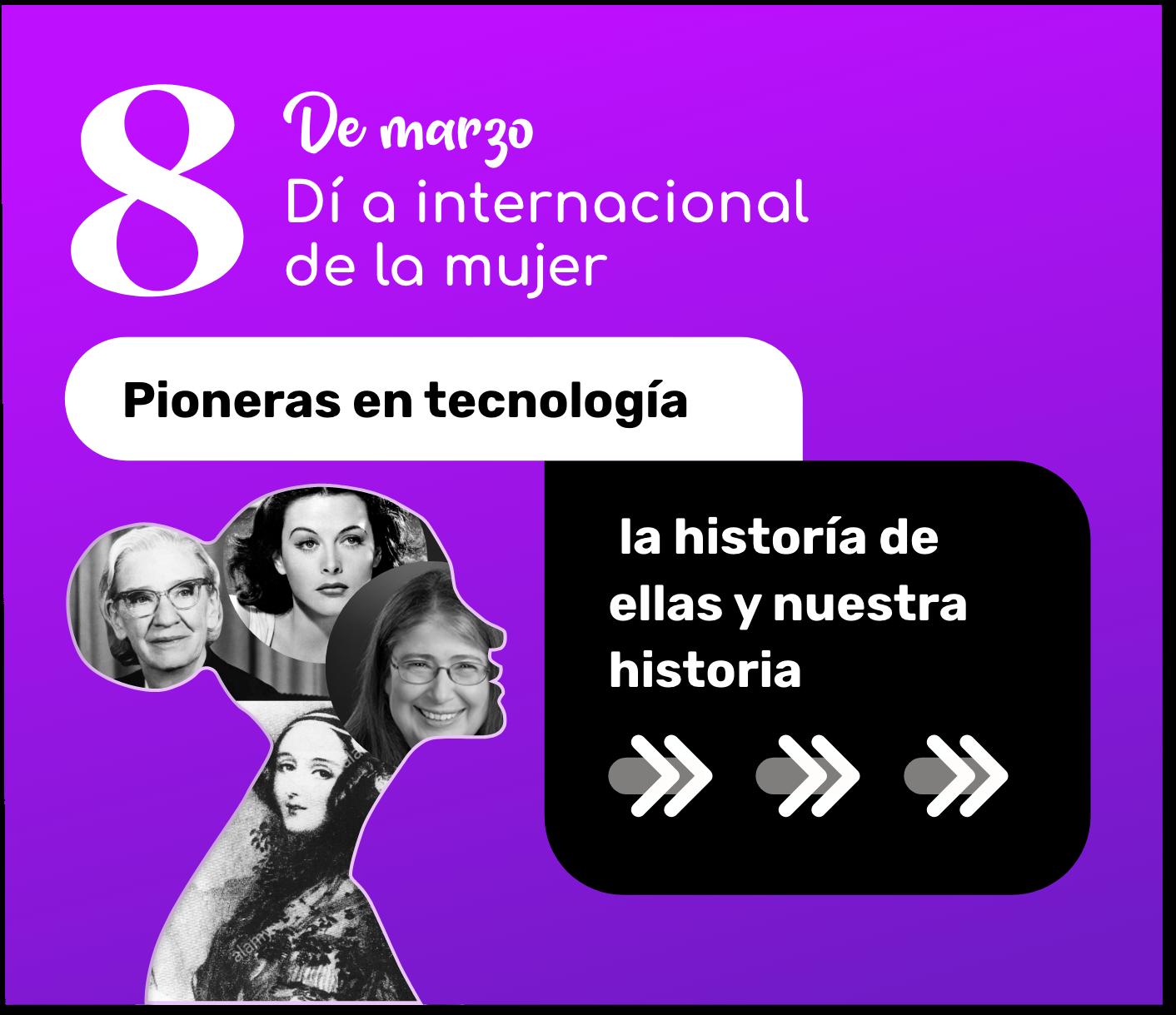 Grandes mujeres en la historia de la tecnología