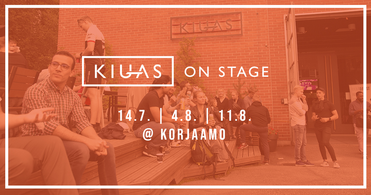 Kiuas on Stage - Health and Wellbeing