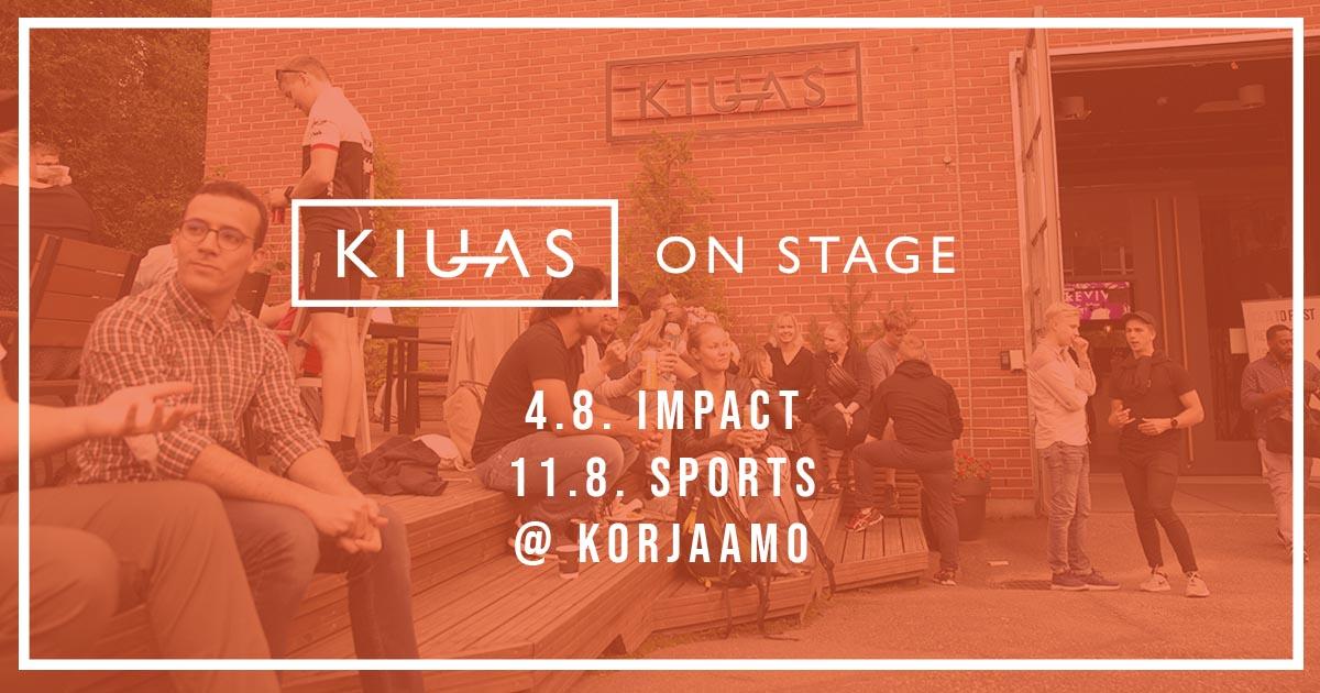 Kiuas on Stage - Impact