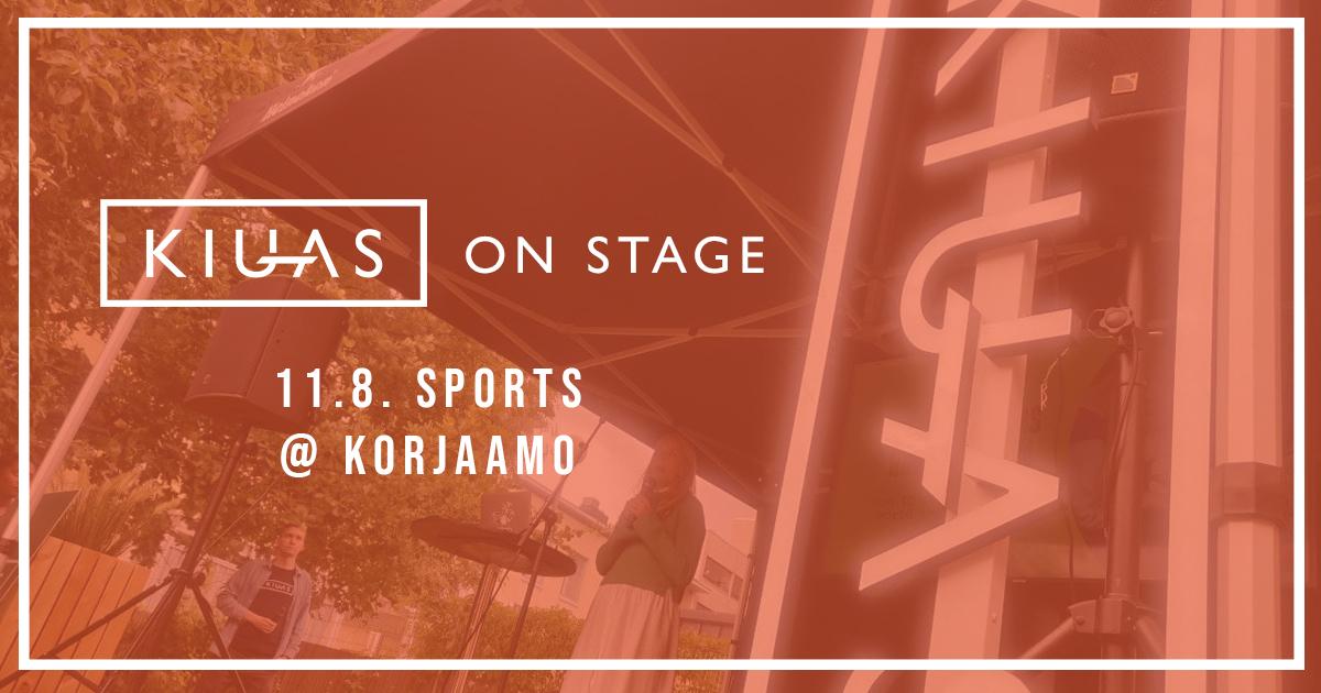 Kiuas on Stage - Sports