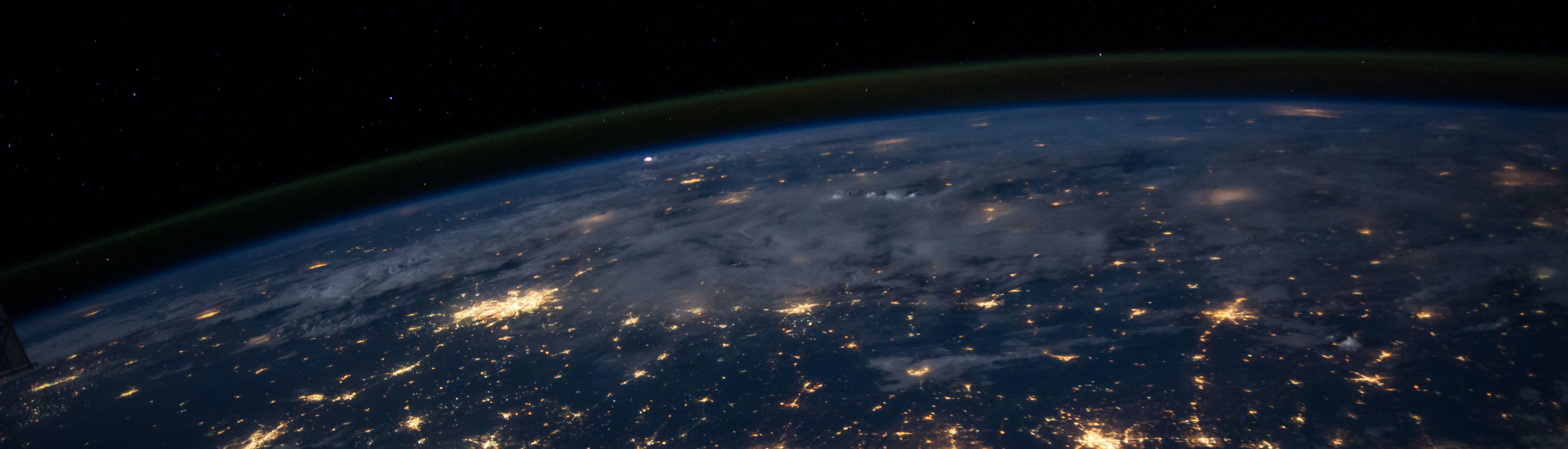 Image of earth as seen from space