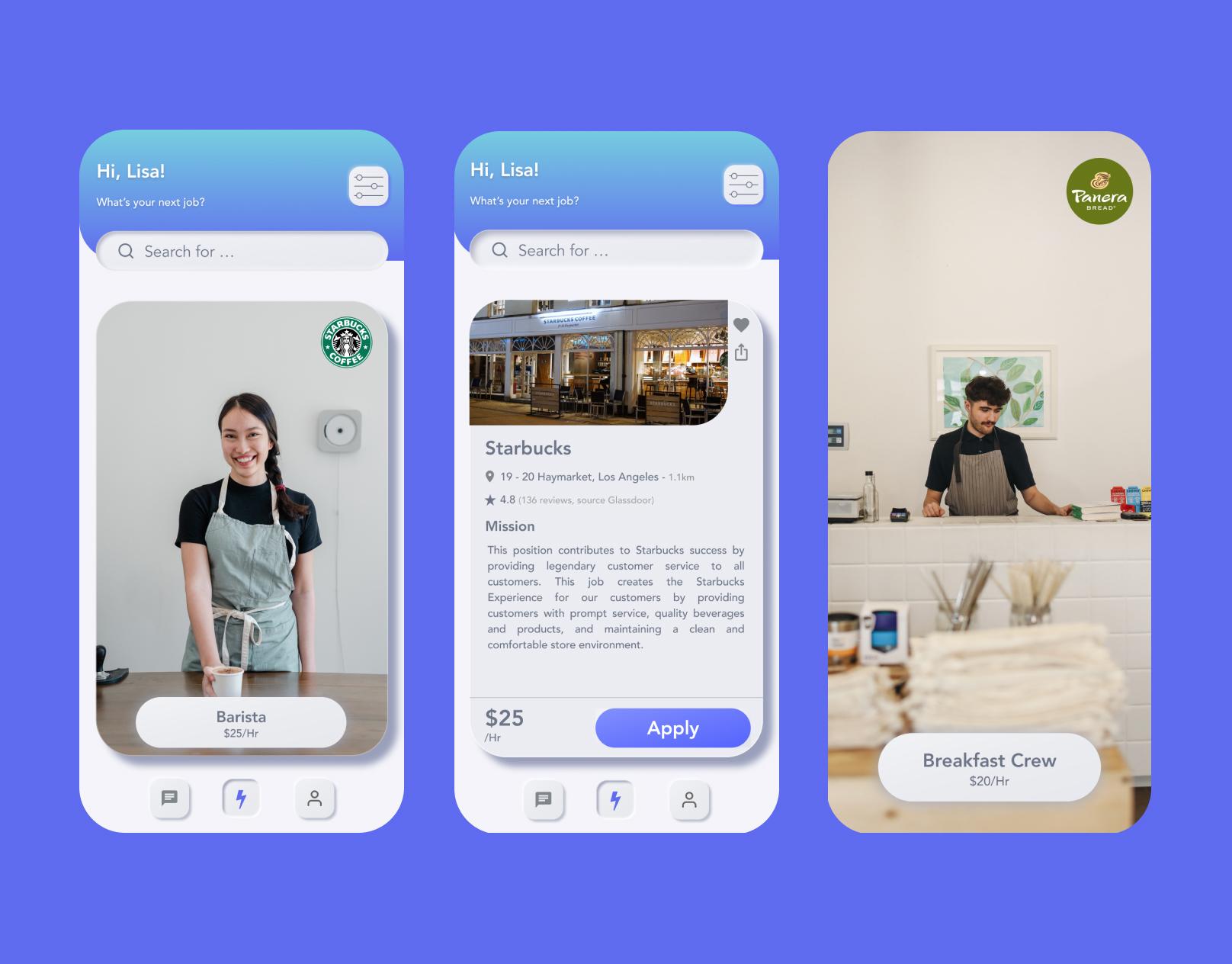 job mobile app