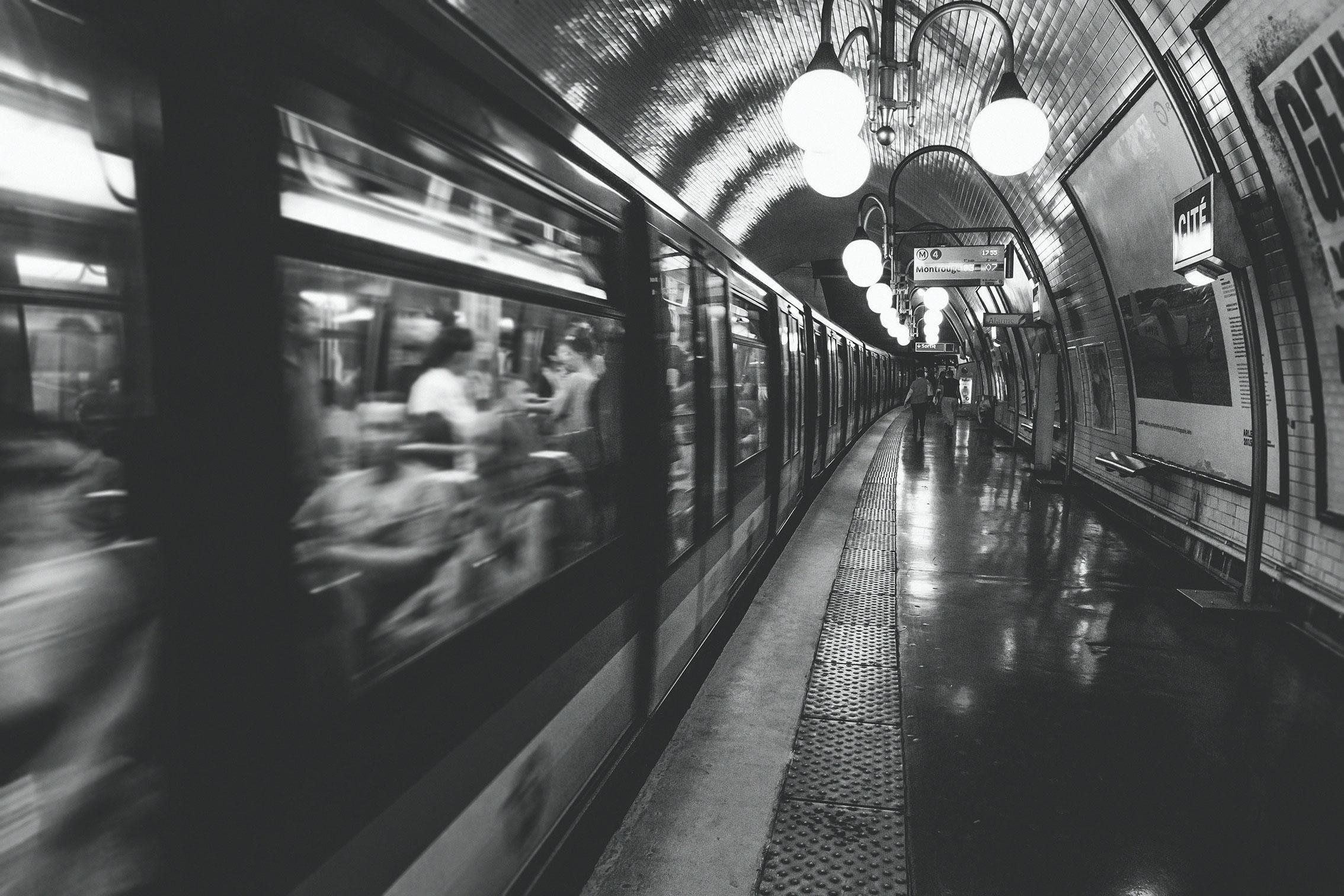 RATP, désinfection des transports en commun