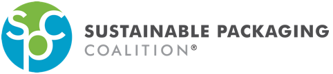 The Sustainable Packaging Coalition horizontal, full color logo