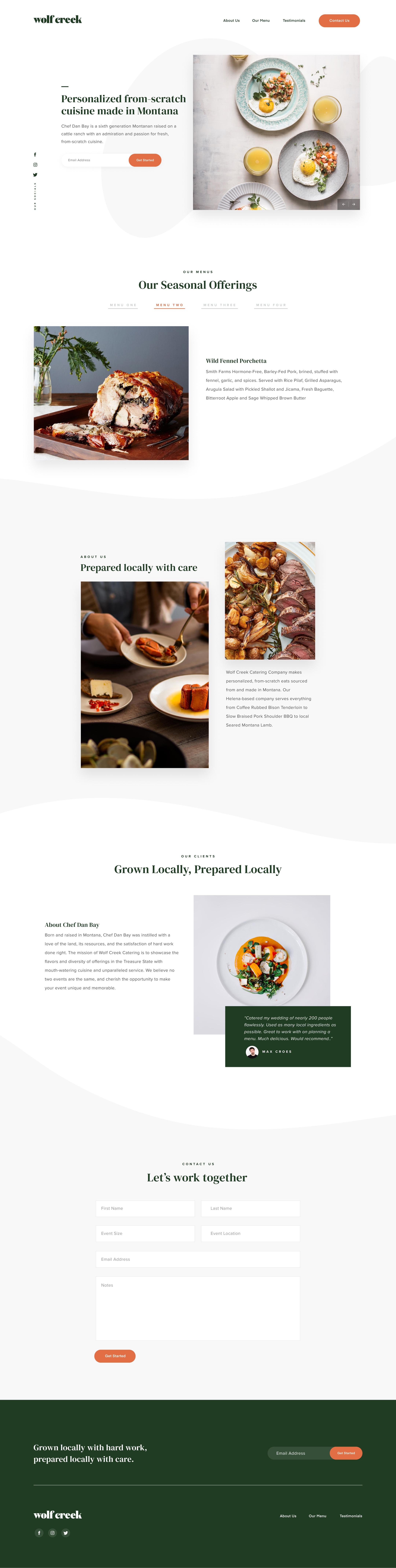 Raymond Lombardi design for Biproxi website design.