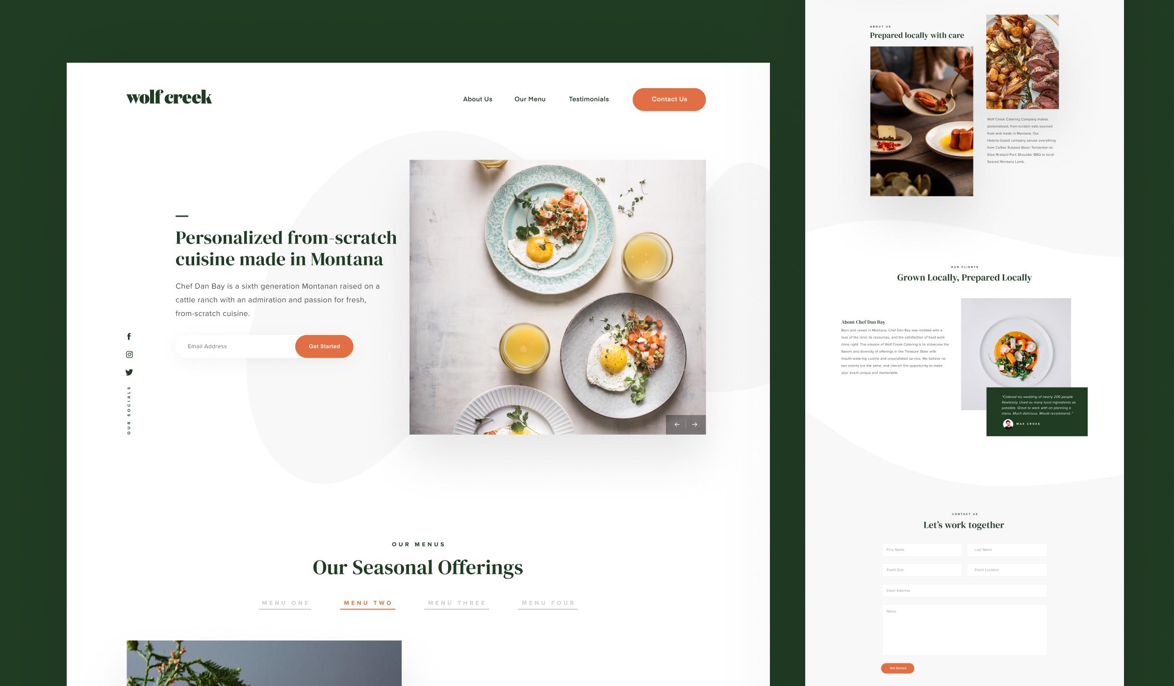 Raymond Lombardi design for Biproxi website.