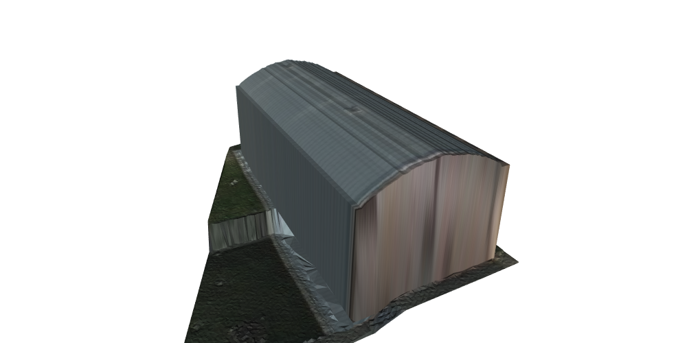 3D model building with texture