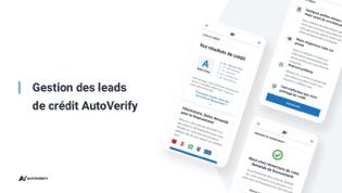 Gestion des leads  de crédit AutoVerify