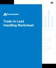 Trade-in Lead Handling Worksheet