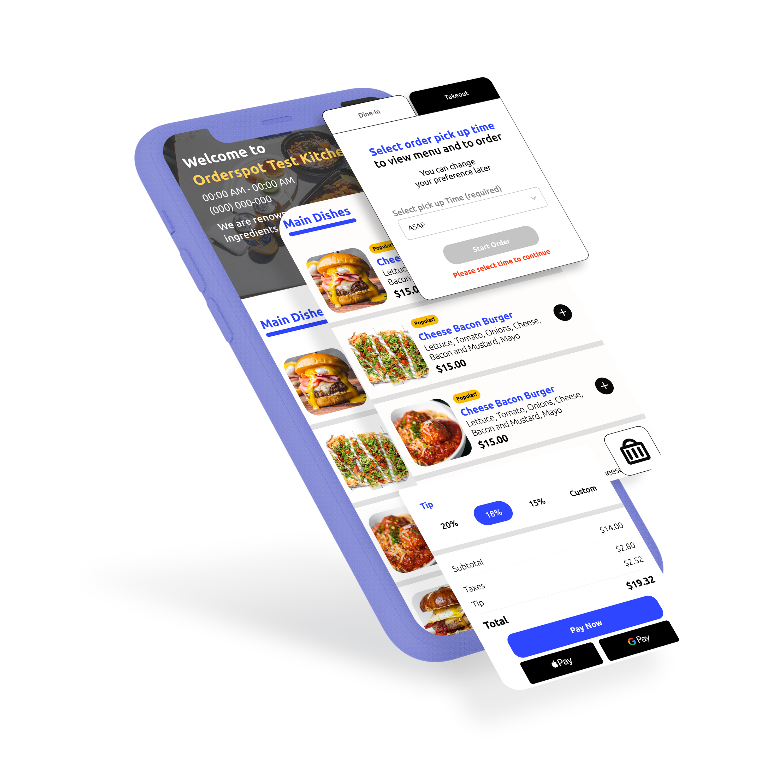 QR Ordering for Restaurants