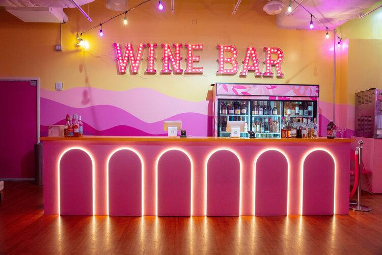 rose mansion-pop-up-design-wine bar