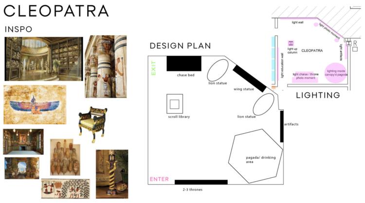 rose mansion-pop-up-design-cleopatra moldboard