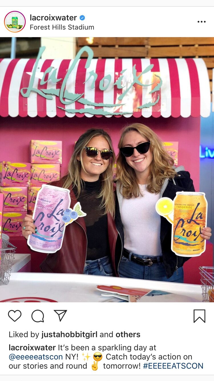 La croix booth at Eatscon-instagram-1