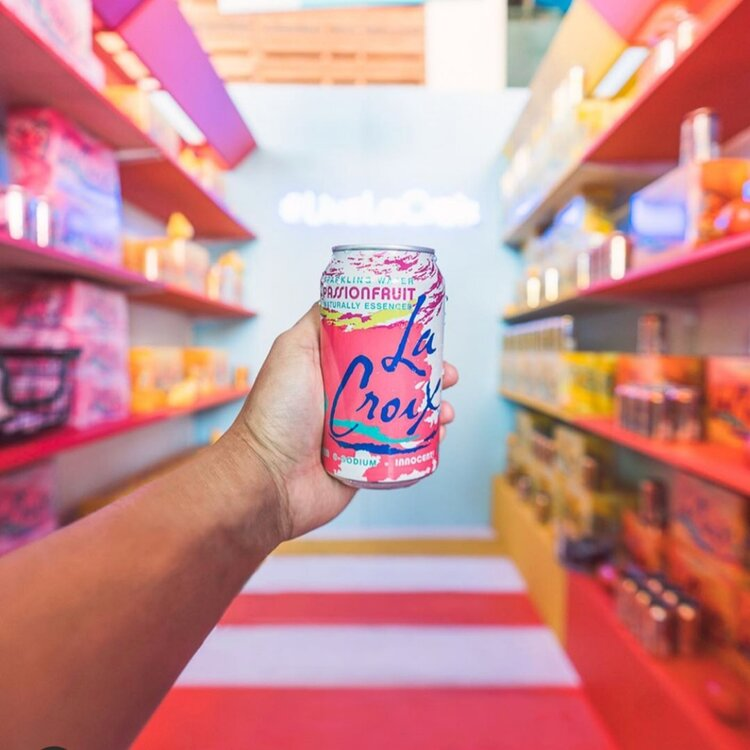 La croix booth at Eatscon-instagram
