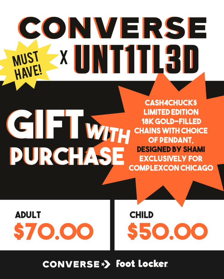 Converse - complex con - graphic poster