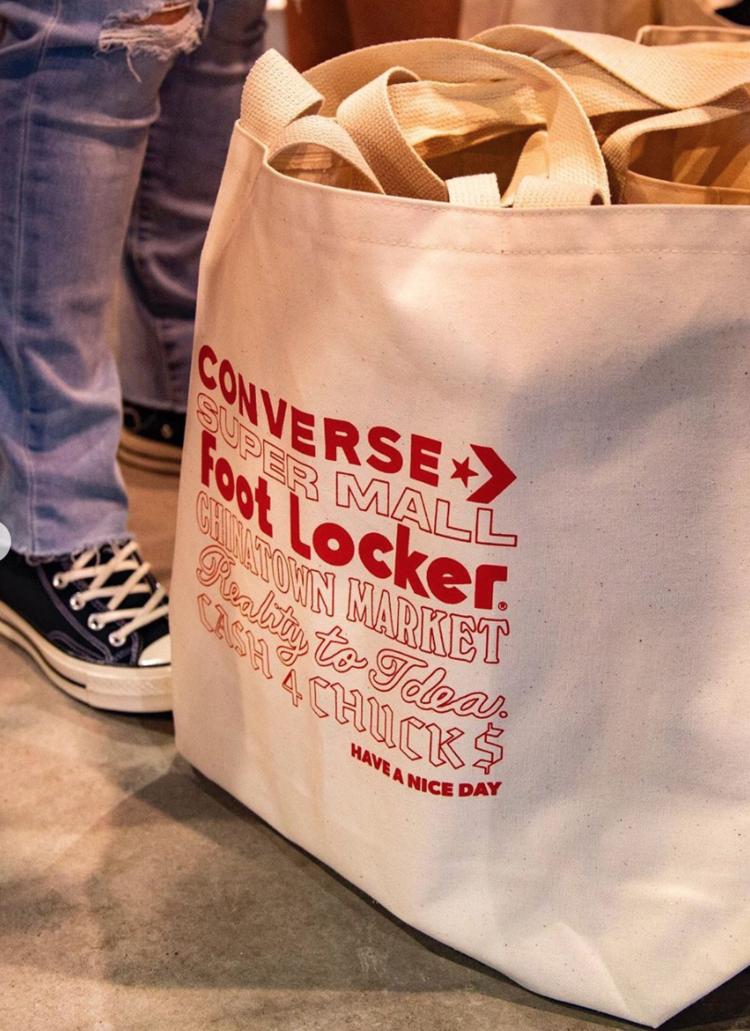 Converse - complex con - tote bag