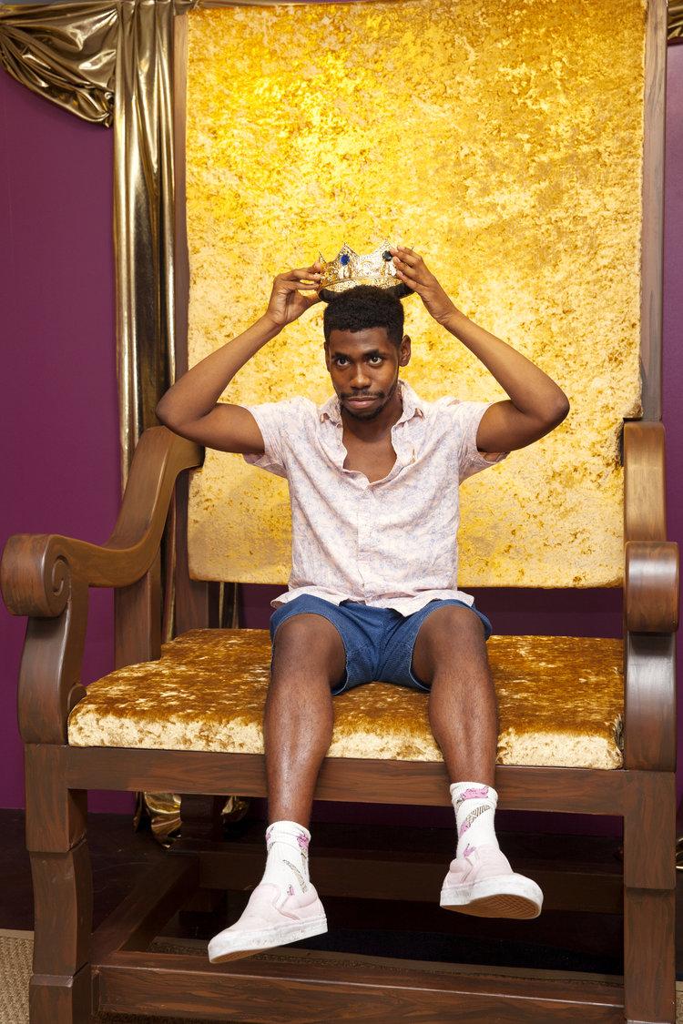 rose mansion - pop up - large throne