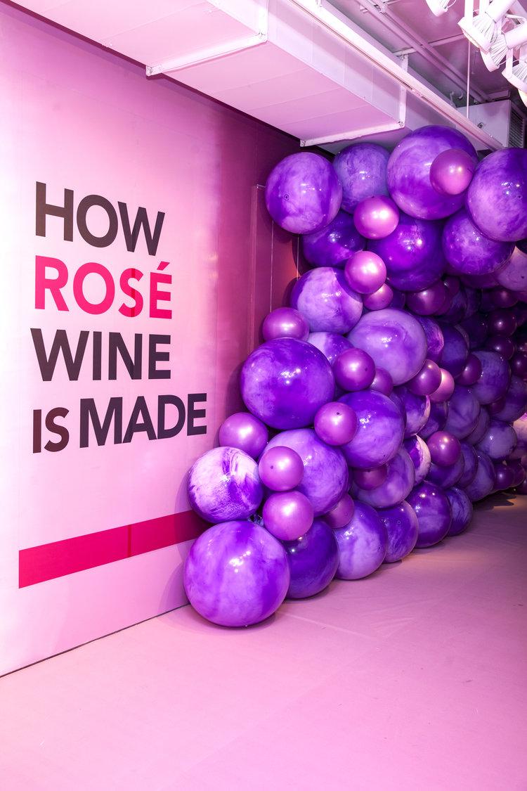 rose mansion - pop up - grapes