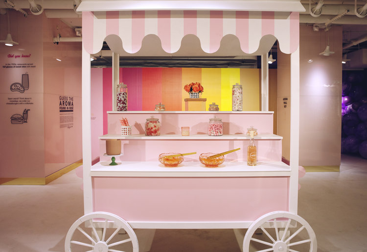 rose mansion - pop up - sweet cart