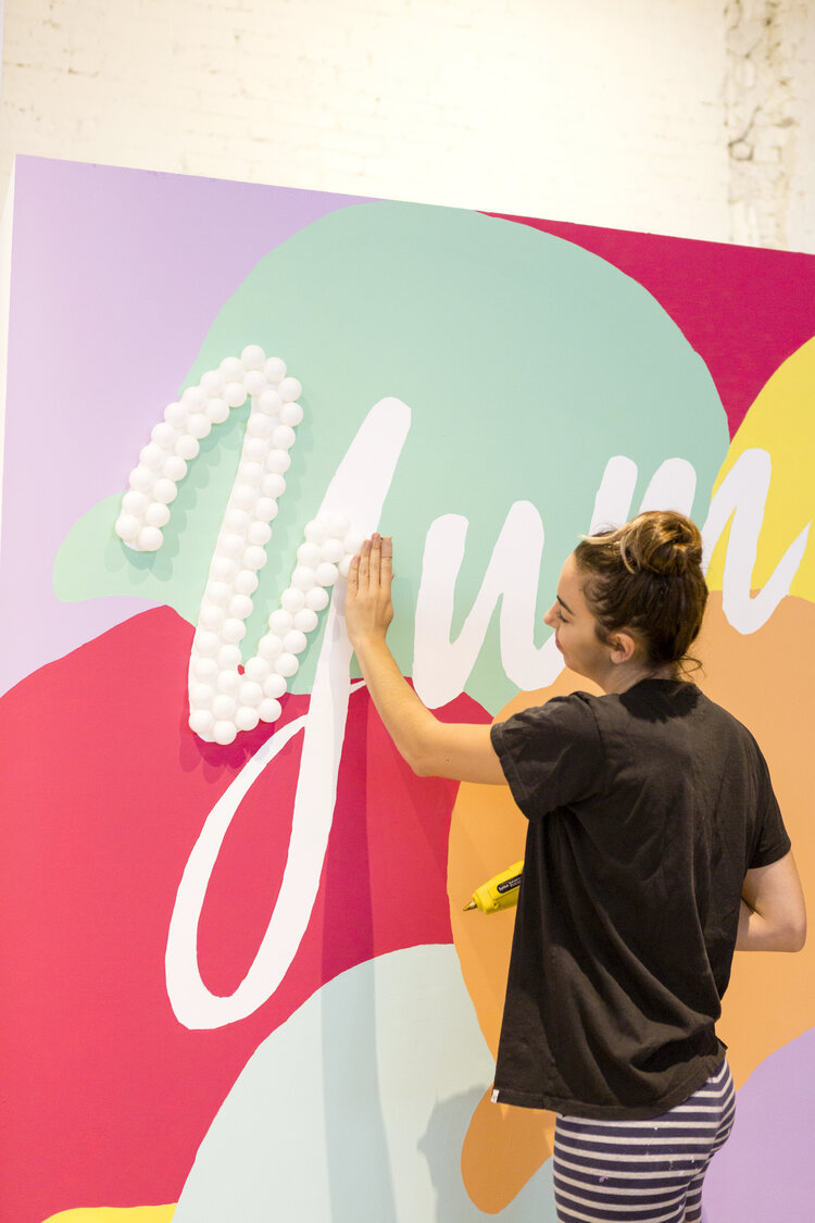 brit + co - create + cultivate - building the talent wall