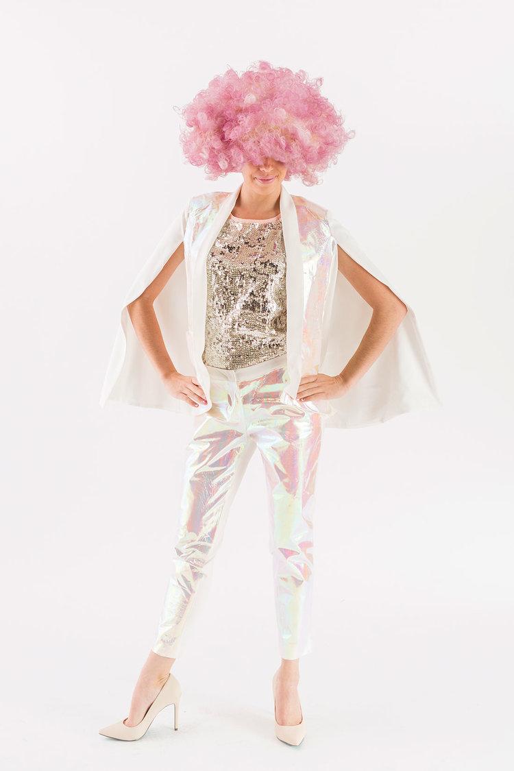 Brit + Co - holographic suit