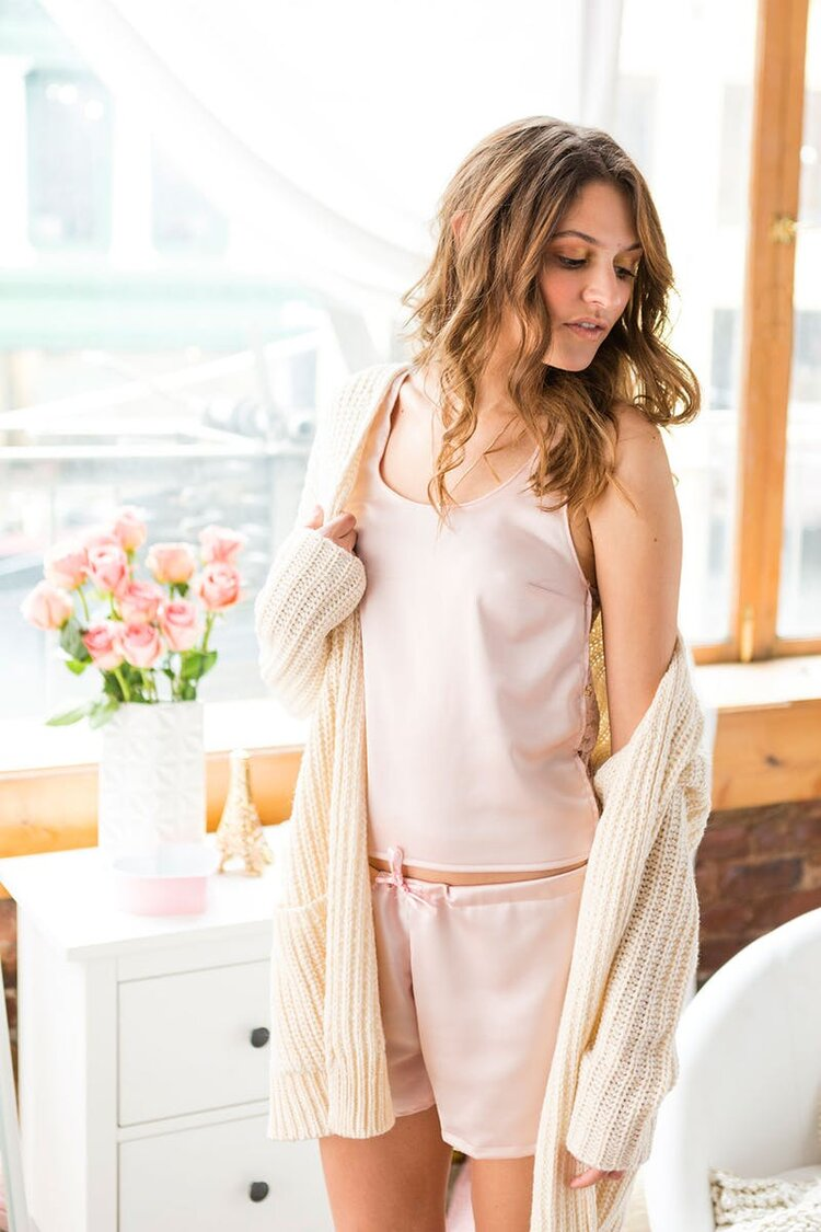 Brit + Co - satin sleepwear