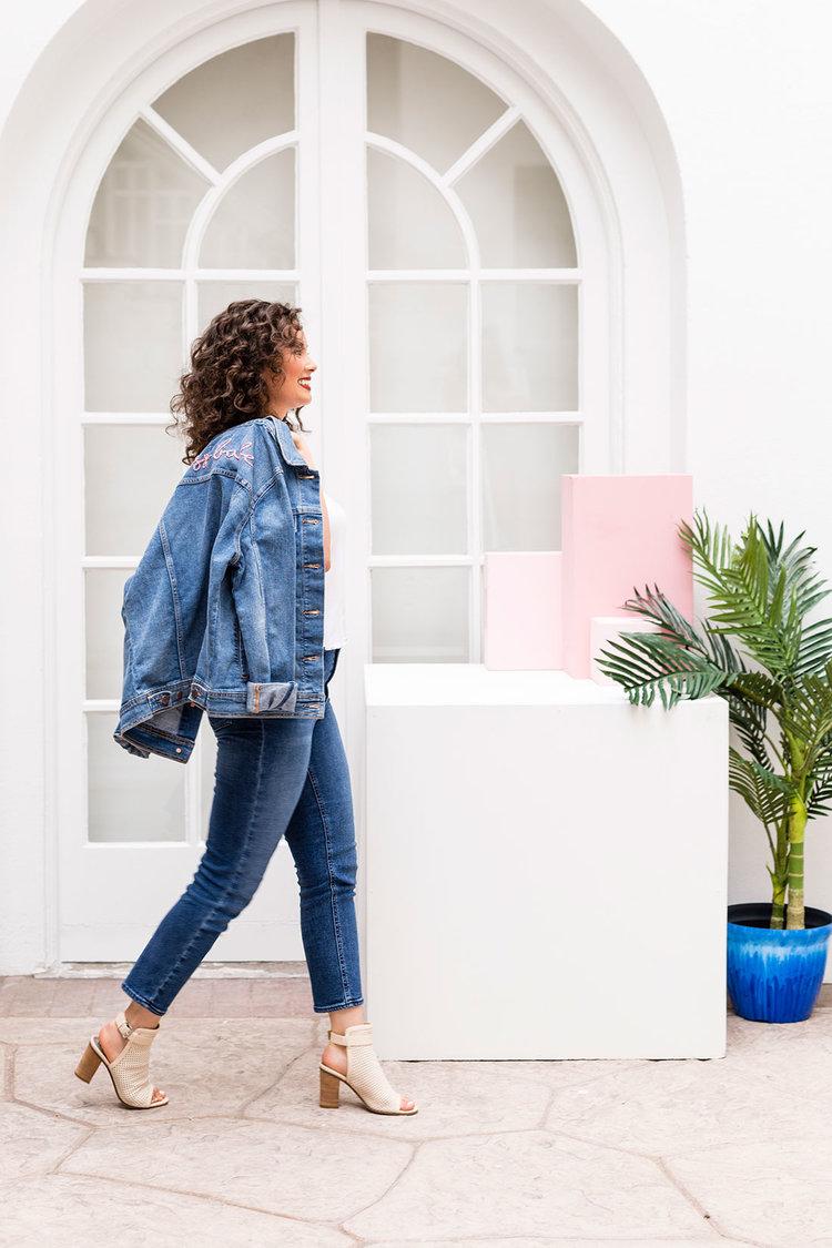 Brit + Co - demin jeans
