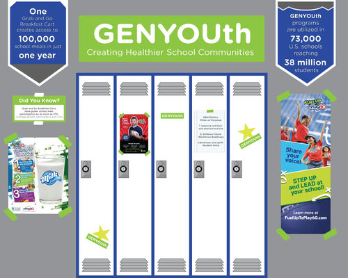 GenYouth Gala booth -3d rendering2
