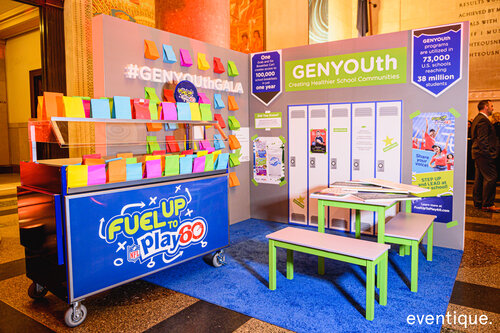 GenYouth Gala booth design
