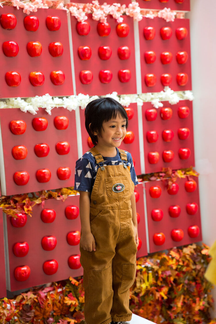 bare snacks - photo booth - young boy smiling