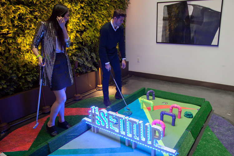 Netflix - event party - golf course