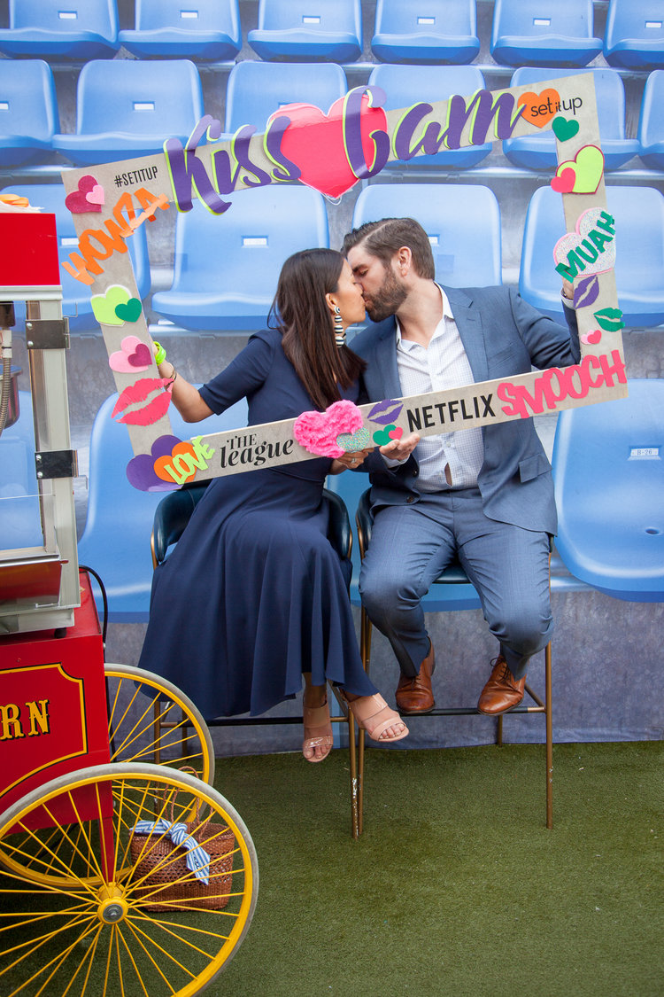 Netflix - event party - kiss cam -2