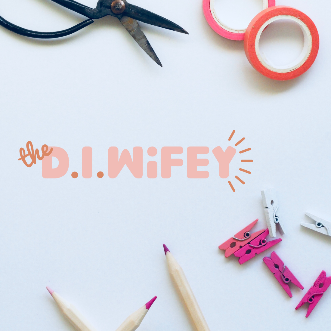 craft pieces- diwifey-logo design