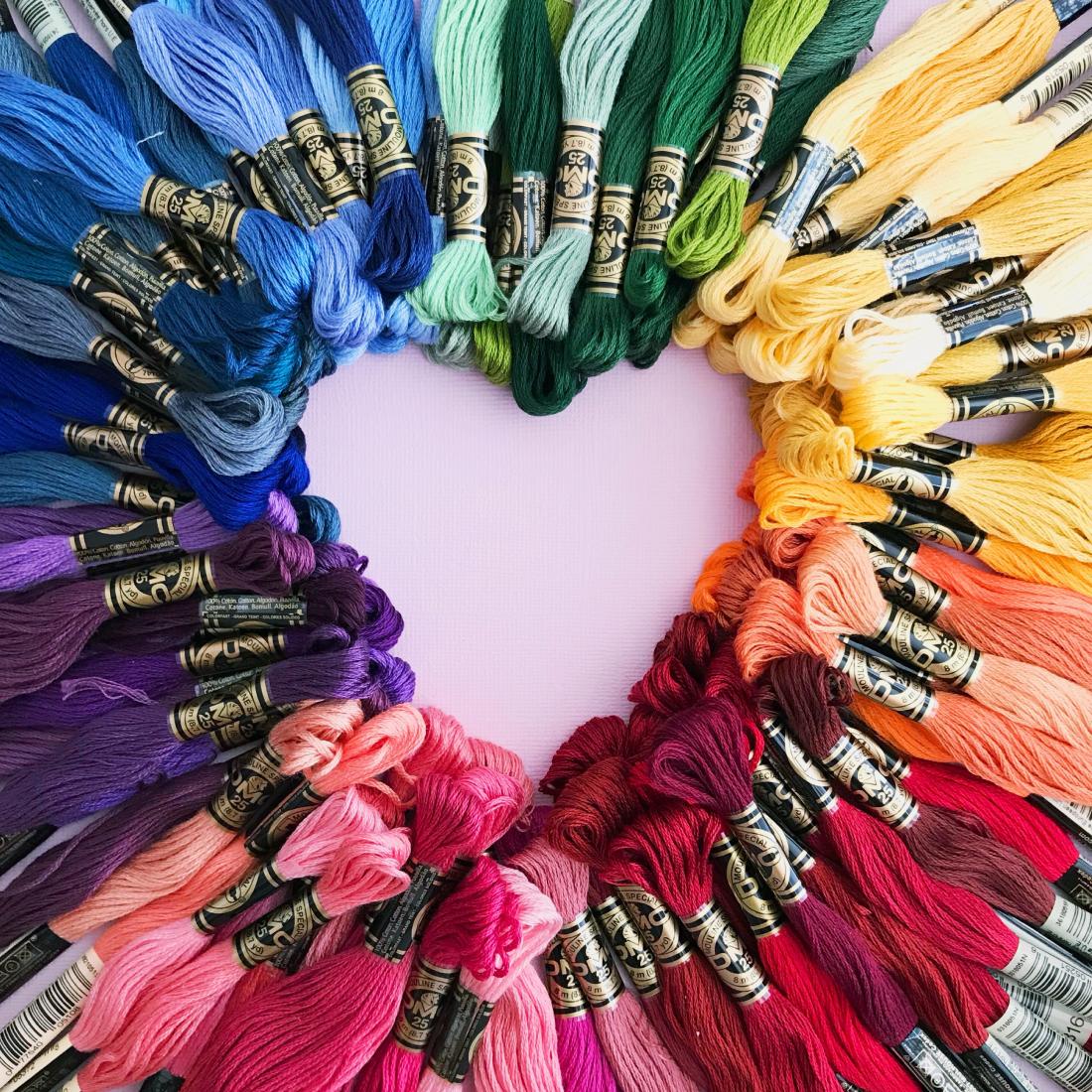 craft pieces- diwifey-logo design - rainbow
