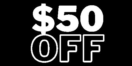 $50 OFF image