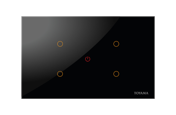Toyama touch 2 module controls