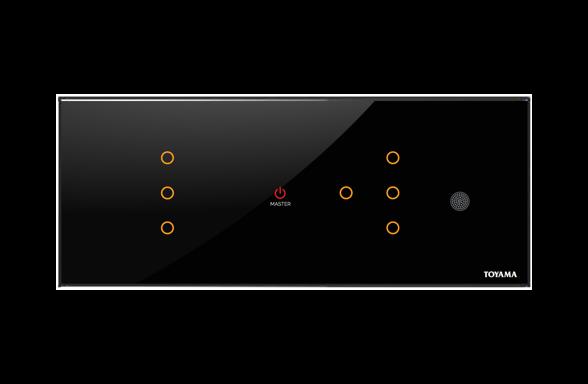 7 key Lighting control switch by Toyama