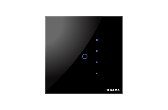Single Dimming Touch switch by Toyama