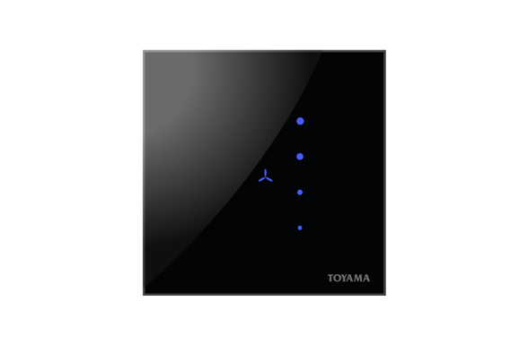 Toyama Touch 2 Module switch with humfree fan control