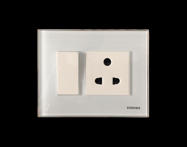 Toyama modular Switches with sockets