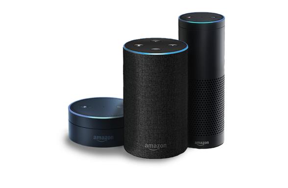 Amazon Echo with Voice assistant Alexa