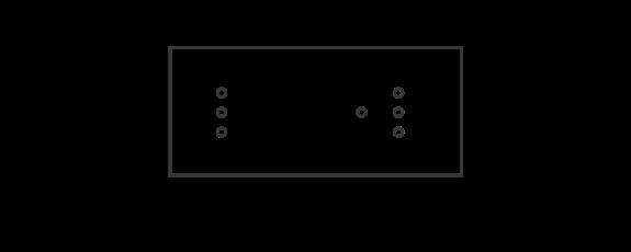 6M Lighting Metal Box Configuration