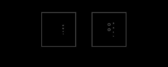 2 module dimming metal configuration box