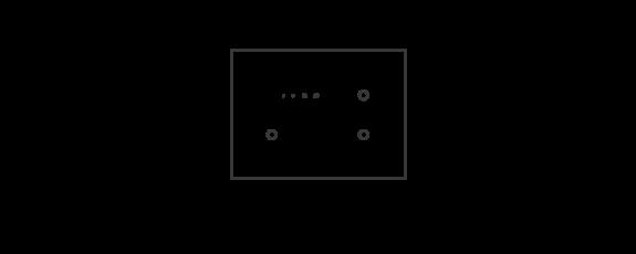 4 module dimming metal configuration box